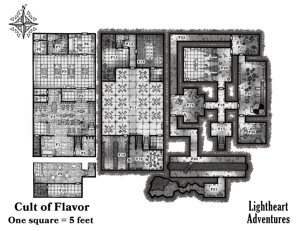 Cult of Cthulu Map
