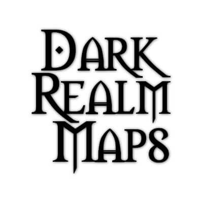 Dark Realm Maps logo