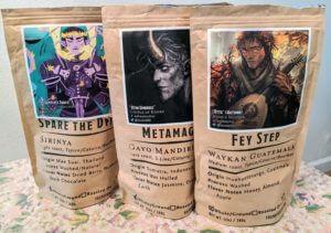 Found Familiar: D&D Coffee