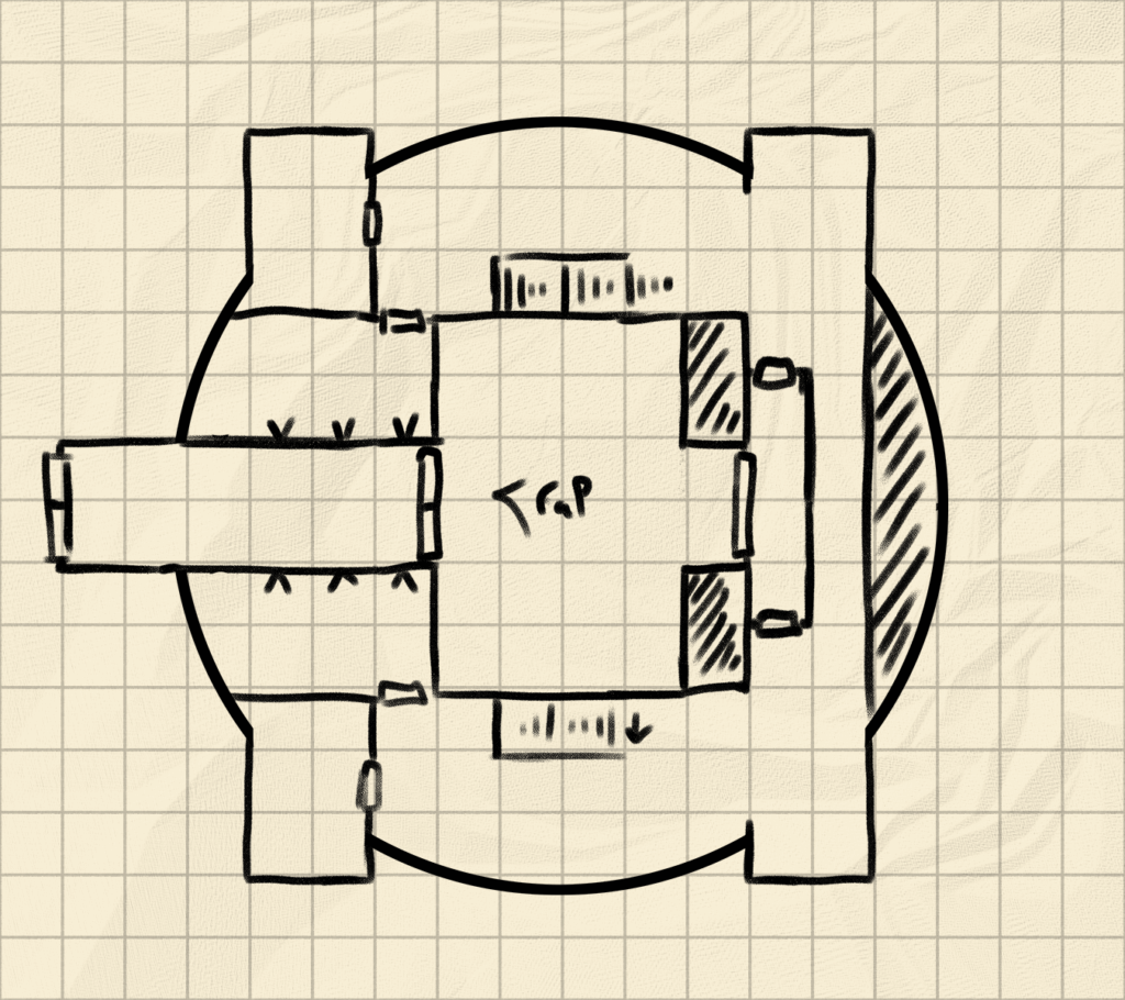 How to draw Draw a Dungeon 1