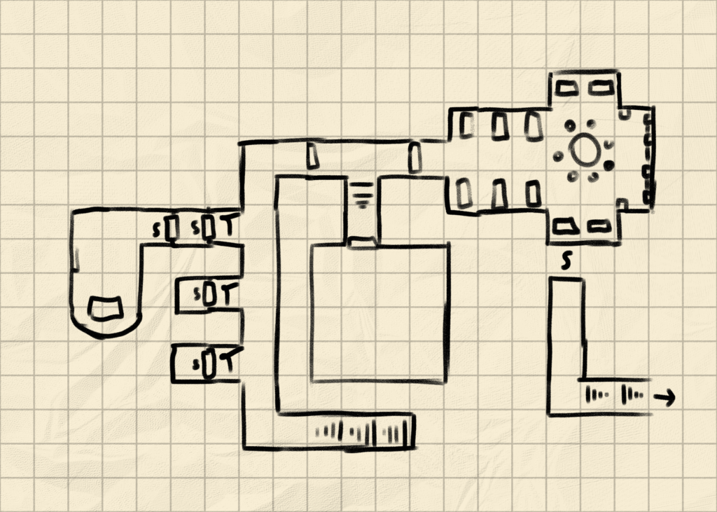How to draw Draw a Dungeon 4