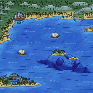 Aquatic World Map