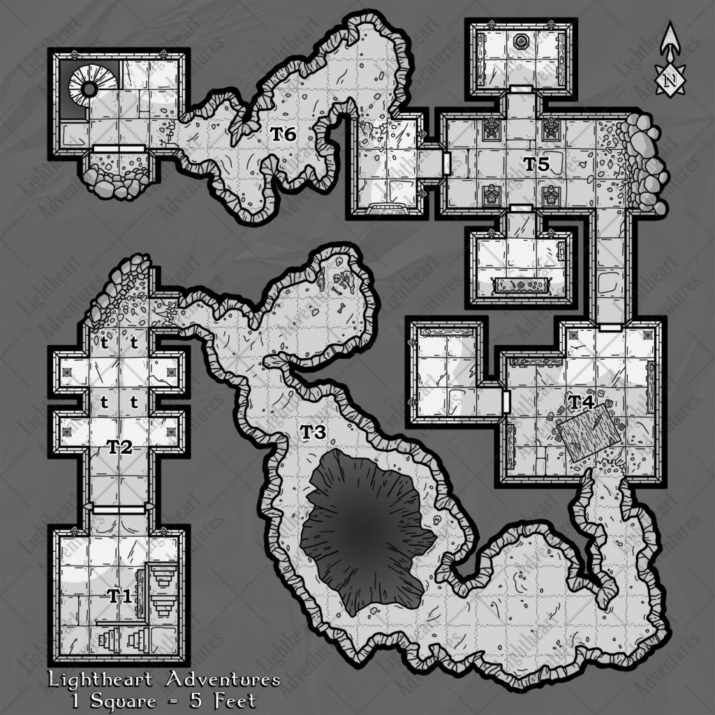 Free Dungeon Encounter Map