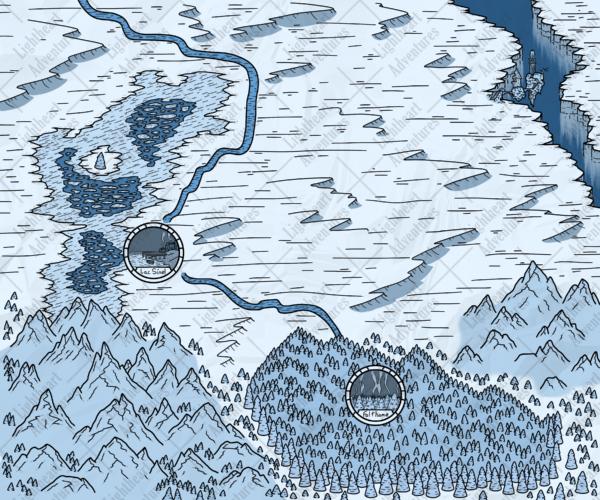 Tundra World Map