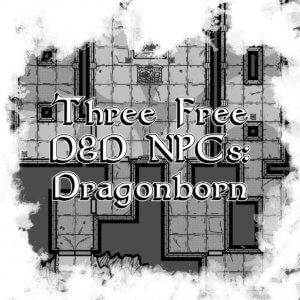 Free D&D NPCs cover page