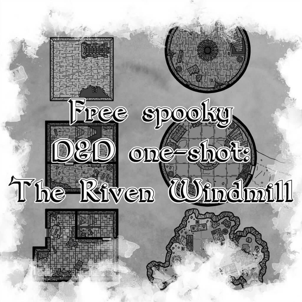 Free spooky D&D one-shot