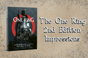 One Ring 2nd Edition Impressions